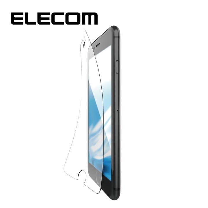 iPhone8/7/6s/6 フィルム エレコム 超最強強化 強化ガラス硬度9H ブルーライトカット iPhone 8/7/6s/6_0