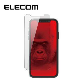 iPhone 11 Pro/XS フィルム エレコム 強化ガラス 9H 指紋防止 ゴリラ iPhone 11 Pro/X/XS
