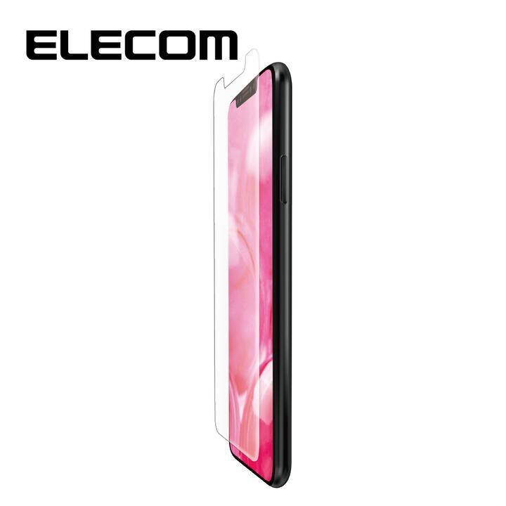 iPhone 11/XR フィルム エレコム 液晶保護フィルム 衝撃吸収 指紋軽減 高光沢 エアーレス iPhone 11/XR_0