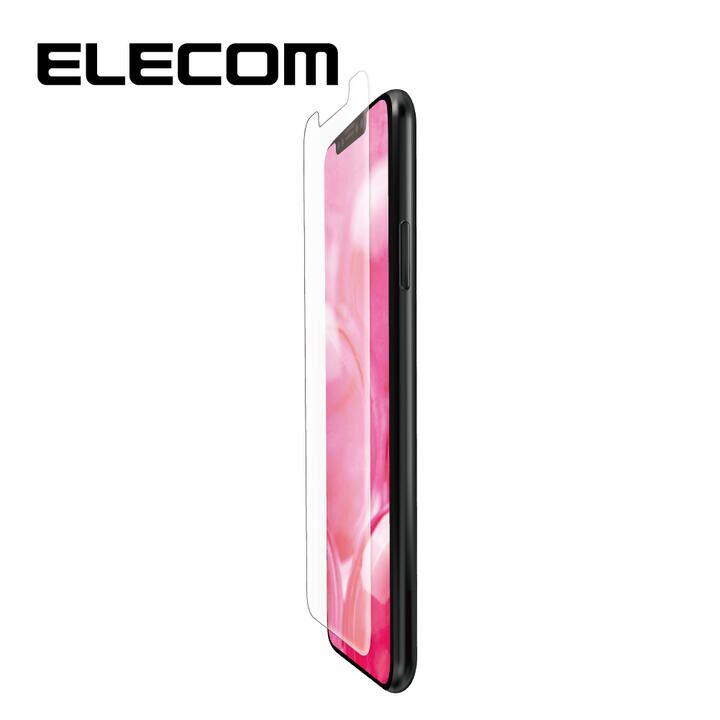 iPhone XR フィルム エレコム スーパースムース 液晶保護フィルム 反射 / 指紋 防止 抗菌 iPhone 11/XR_0
