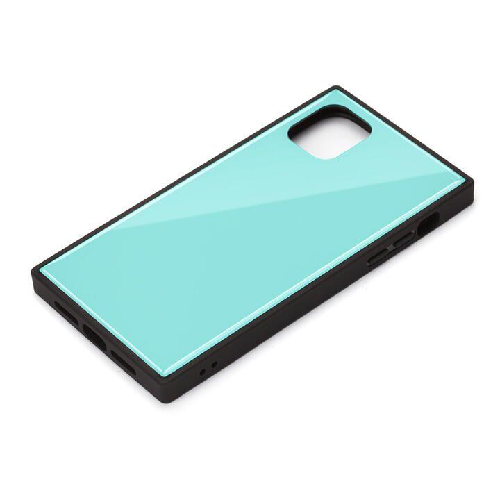 iPhone 11 ケース ガラスハイブリッドケース ブルー iPhone 11_0