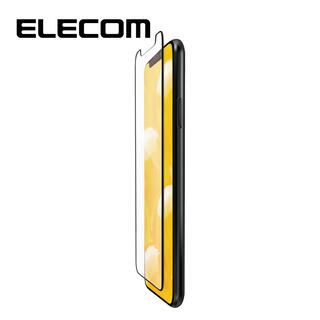 iPhone 11 Pro/XS フィルム エレコム フルカバー超耐衝撃保護フィルム 指紋防止 高光沢 iPhone 11 Pro/X/XS