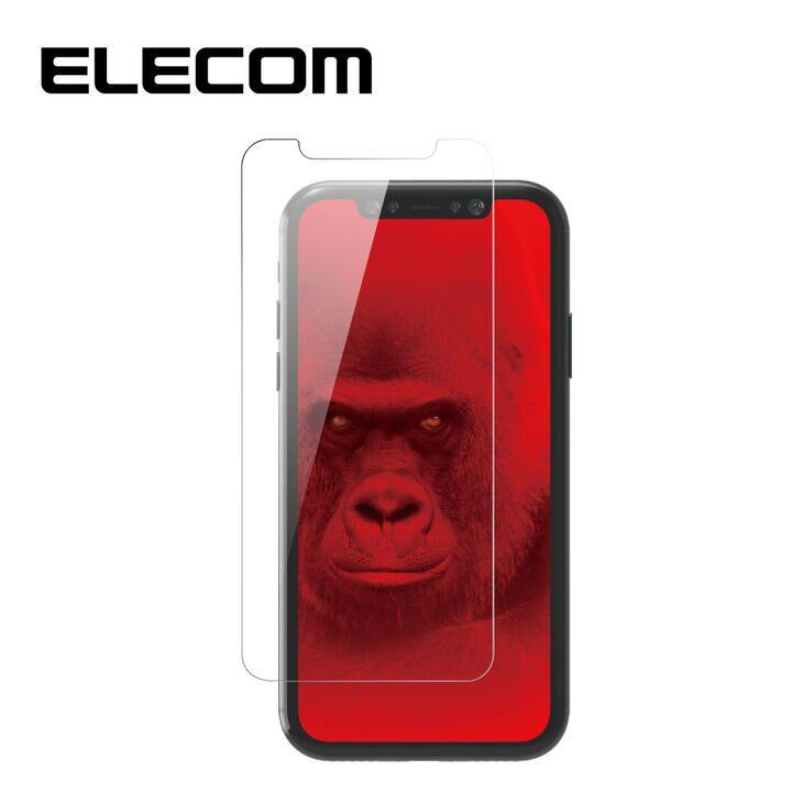 iPhone 11 Pro/XS フィルム エレコム 超強化 強化ガラス硬度9H 指紋防止 ゴリラ iPhone 11 Pro/X/XS_0
