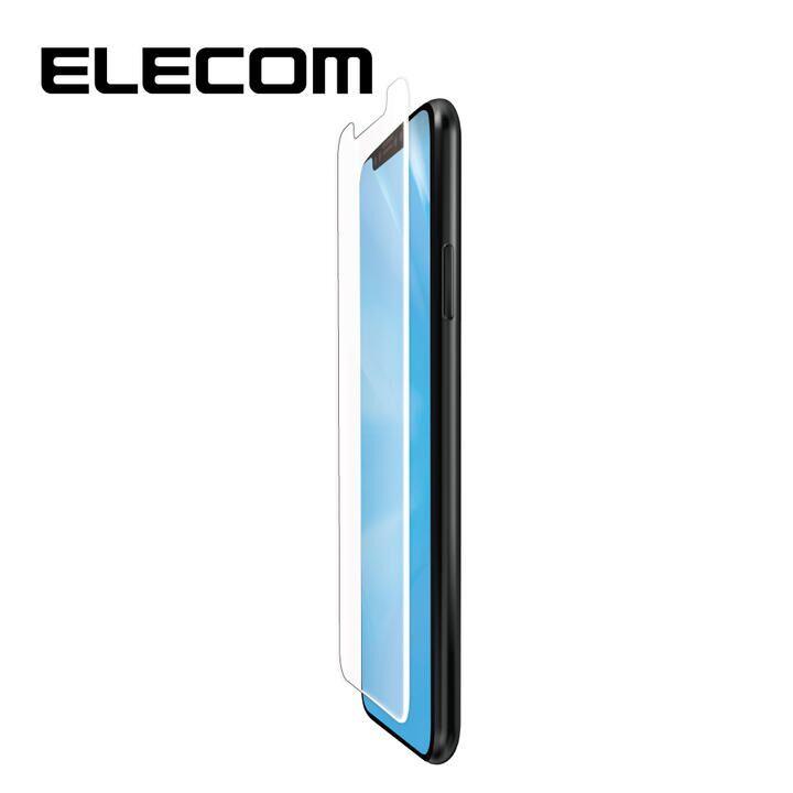 iPhone 11/XR フィルム エレコム フルカバー超耐衝撃保護フィルム BL 指紋防止 高光沢 ホワイト iPhone 11/XR_0