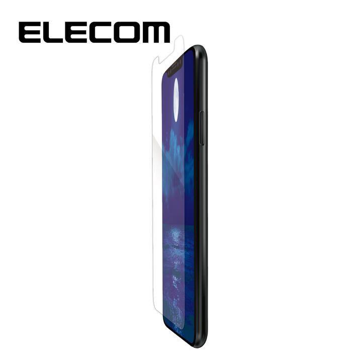 iPhone XR フィルム エレコム 超反射防止 保護フィルム 指紋 ハードコート 抗菌 エアーレス iPhone 11/XR_0