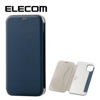 iPhone 11 ケース エレコム 3つ折り レザー手帳型薄型ケース カード収納 ネイビー iPhone 11