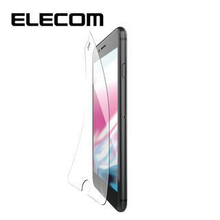 iPhone8/7/6s/6 フィルム エレコム 超最強強化 強化ガラス硬度9H 指紋防止 iPhone 8/7/6s/6