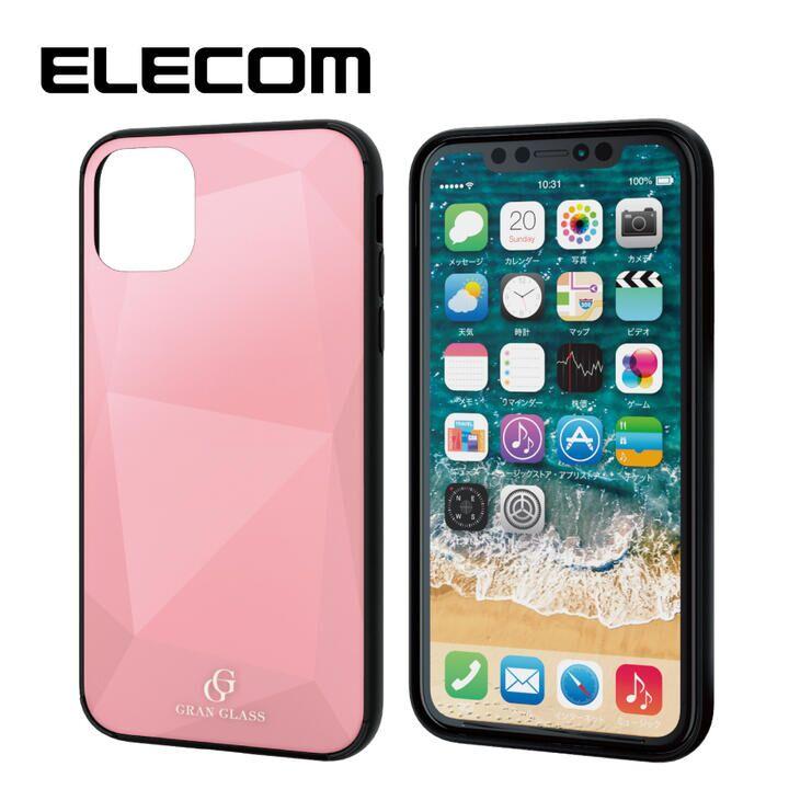 iPhone 11 ケース エレコム 3種構造 ハイブリッドケース ピンク iPhone 11_0