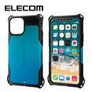 エレコム ZEROSHOCK 耐衝撃ケース ブルー iPhone 11 Pro