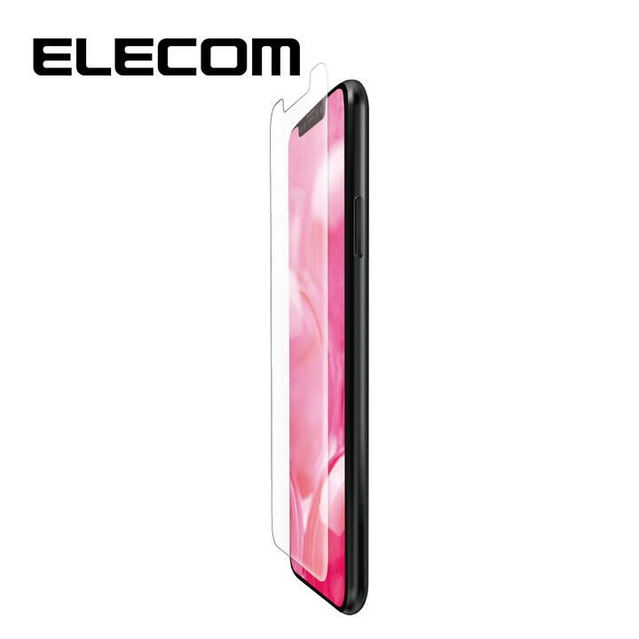 iPhone 11/XR フィルム エレコム 液晶保護フィルム 衝撃吸収 反射 / 指紋 防止 iPhone 11/XR_0