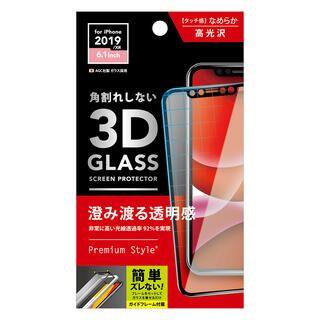 iPhone 11 フィルム 3Dハイブリッドガラス 貼り付けキット付き  クリア iPhone 11