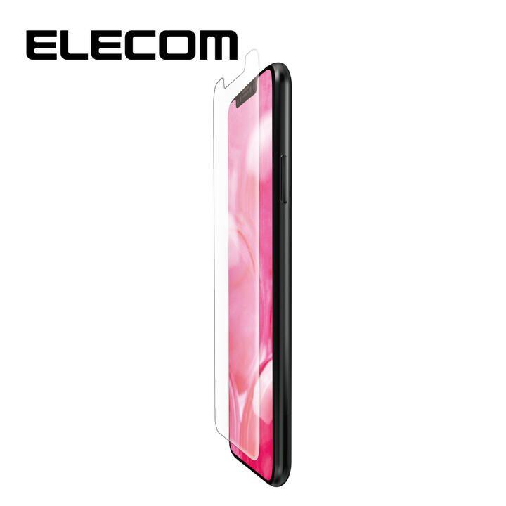 iPhone 11/XR フィルム エレコム 液晶保護フィルム 衝撃吸収 反射防止 指紋軽減 エアーレス iPhone 11/XR_0