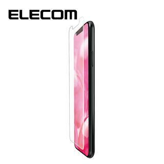 iPhone 11/XR フィルム エレコム フルカバー超耐衝撃保護フィルム 傷リペア 指紋防止 透明 iPhone 11/XR