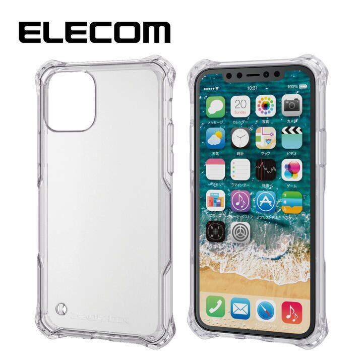 iPhone 11 Pro ケース エレコム ZEROSHOCK 耐衝撃クリアケース クリア iPhone 11 Pro_0