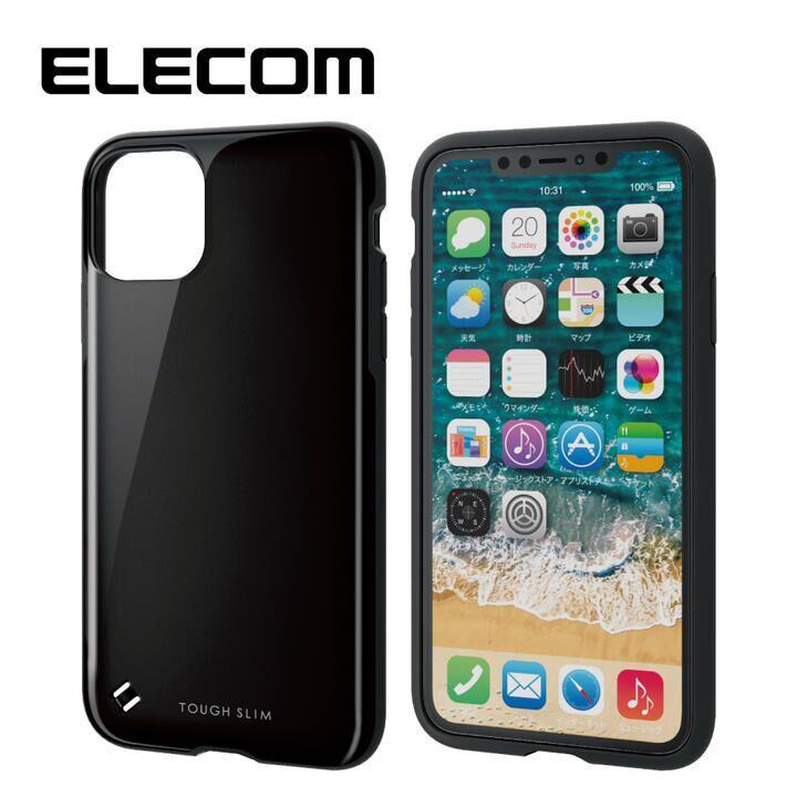iPhone 11 Pro Max ケース エレコム TOUGH SLIM 衝撃吸収ケース ブラック iPhone 11 Pro Max_0