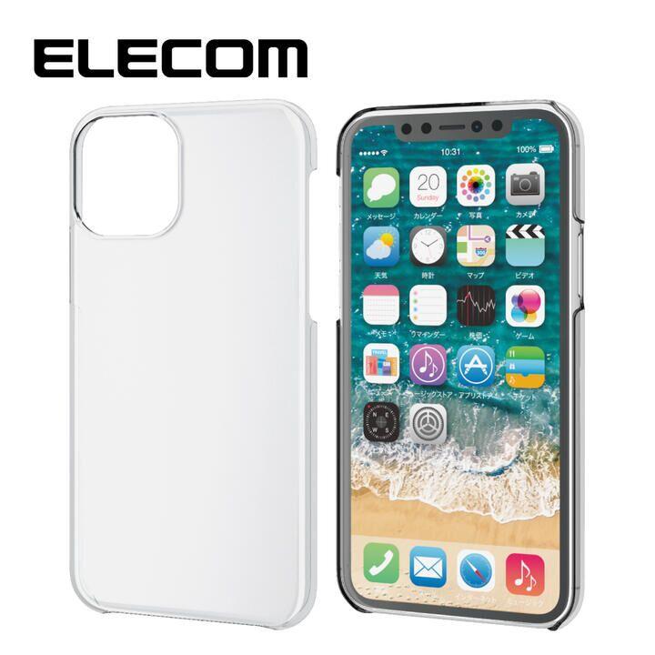 iPhone 11 Pro ケース エレコム TR-90 クリアハードケース クリア iPhone 11 Pro_0