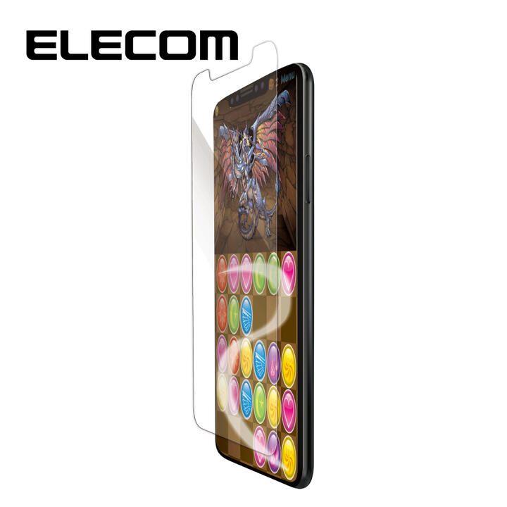 iPhone XR フィルム エレコム ゲーム用 指紋防止  スムース  iPhone 11/XR_0