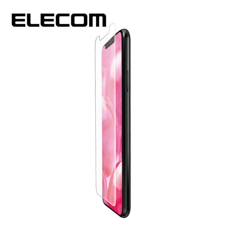 iPhone 11/XR フィルム エレコム フルカバー超耐衝撃保護フィルム 傷リペア 指紋防止 透明 iPhone 11/XR_0