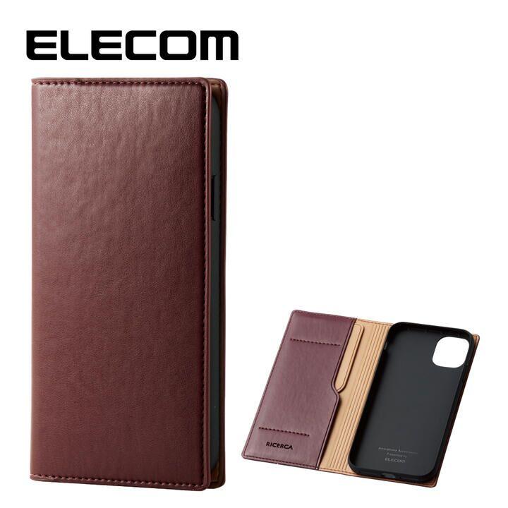 iPhone 11 ケース エレコム レザー手帳型 CORONET 耐衝撃 カード収納 マッローネ iPhone 11_0