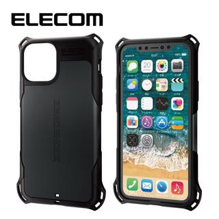 iPhone 11 Pro ケース エレコム ZEROSHOCK 耐衝撃ケース ブラック iPhone 11 Pro