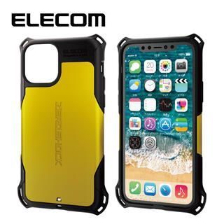 iPhone 11 Pro ケース エレコム ZEROSHOCK 耐衝撃ケース イエロー iPhone 11 Pro