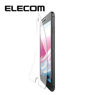 iPhone8/7/6s/6 フィルム エレコム 超最強強化 強化ガラス硬度9H セラミックコート/指紋防止 iPhone 8/7/6s/6