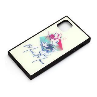 iPhone 11 Pro Max ケース ディズニー ガラスハイブリッドケース ミニーマウス iPhone 11 Pro Max