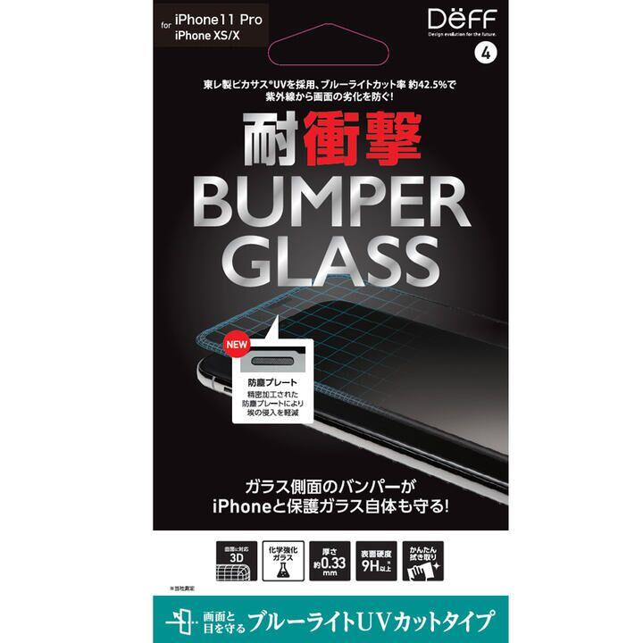 iPhone 11 Pro フィルム BUMPER GLASS 強化ガラス ブルーライトカットUVカット iPhone 11 Pro_0