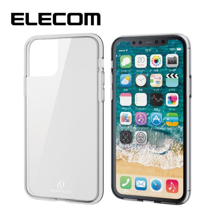 iPhone 11 Pro ケース エレコム 耐衝撃ガラスハイブリッドケース クリア iPhone 11 Pro_0