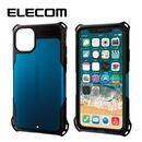 エレコム ZEROSHOCK 耐衝撃ケース ブルー iPhone 11