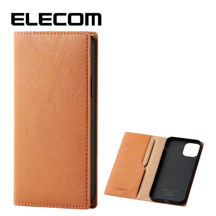 iPhone 11 Pro ケース エレコム レザー手帳型 CORONET 耐衝撃 カード収納 オレンジスカッシュ iPhone 11 Pro_0
