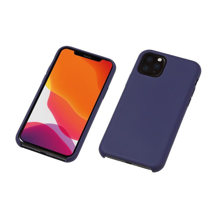 iPhone 11 Pro ケース CRYTONE Hybrid Silicone Hard Case ハイブリッドケース ネイビー iPhone 11 Pro_0