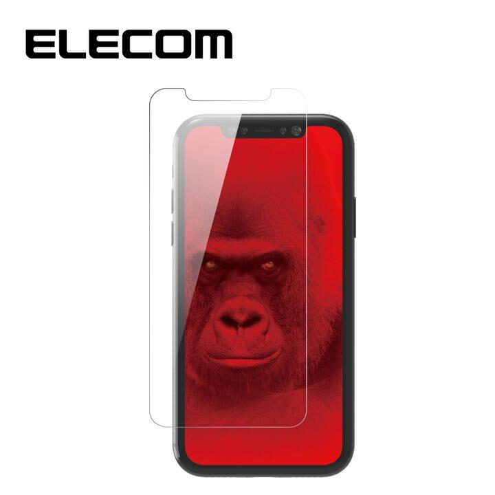 iPhone 11/XR フィルム エレコム 強化ガラス 9H 指紋防止 ゴリラ iPhone 11/XR_0