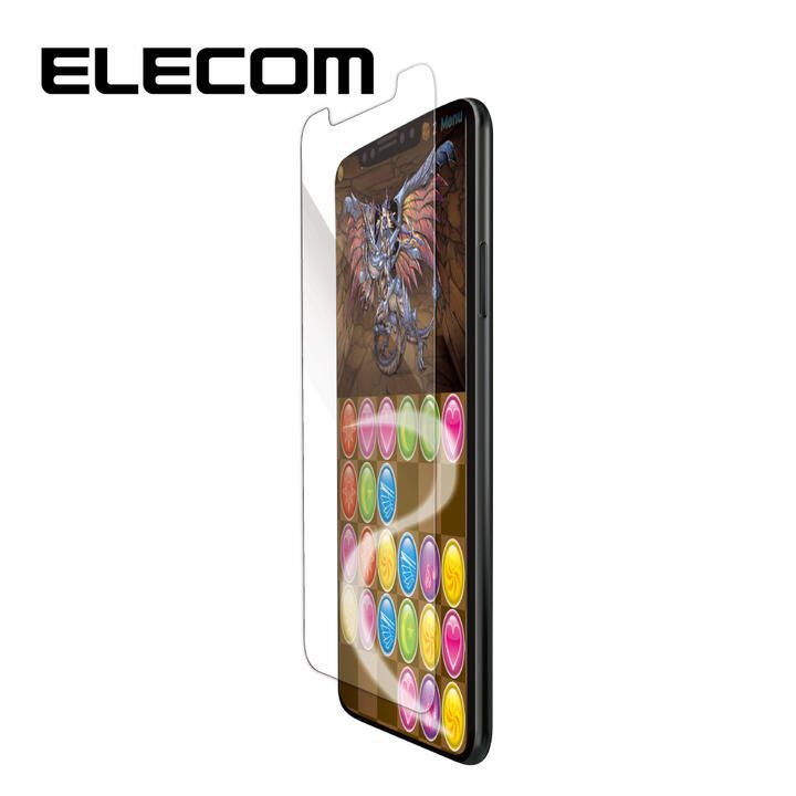 iPhone 11/XR フィルム エレコム ゲーム 用 BLカット  iPhone 11/XR_0