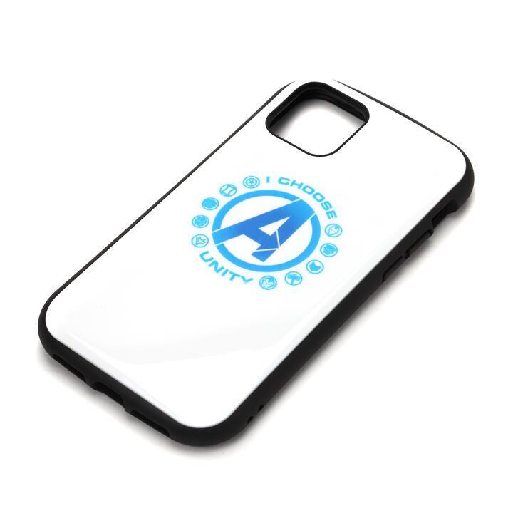 iPhone 11 Pro Max ケース MARVEL ハイブリッドタフケース アベンジャーズ/ホワイト iPhone 11 Pro Max_0