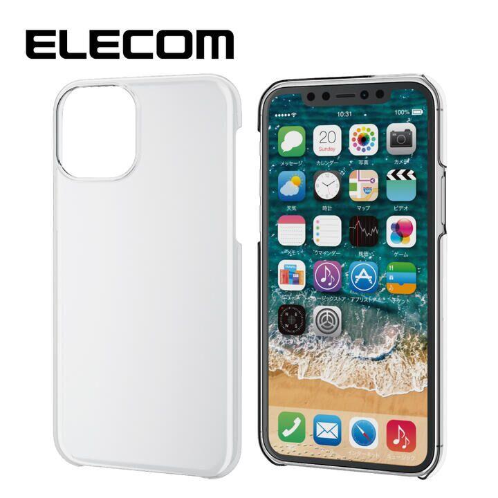 iPhone 11 Pro ケース エレコム 軽量 薄型 シンプル クリアハードケース クリア iPhone 11 Pro_0