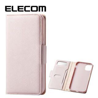 iPhone 11 ケース エレコム ミラー付き ICカード収納 手帳型ケース ライトピンク iPhone 11