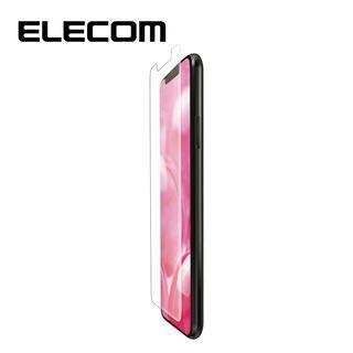 iPhone 11 Pro/XS フィルム エレコム 液晶保護フィルム 全面 超衝撃吸収 指紋防止 透明 専用ヘラ iPhone 11 Pro/X/XS