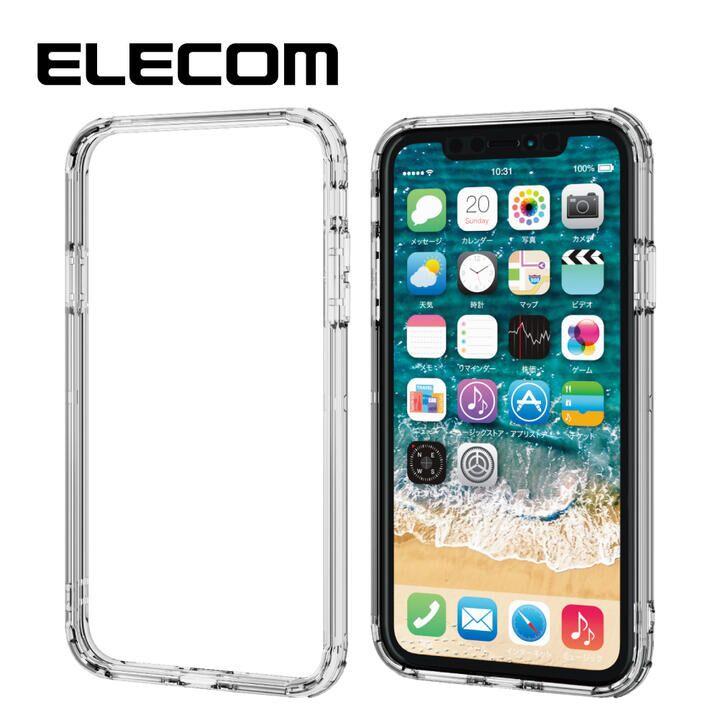 iPhone 11 ケース エレコム 耐衝撃バンパー  高透明 クリア iPhone 11_0