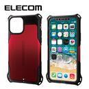 エレコム ZEROSHOCK 耐衝撃ケース レッド iPhone 11 Pro
