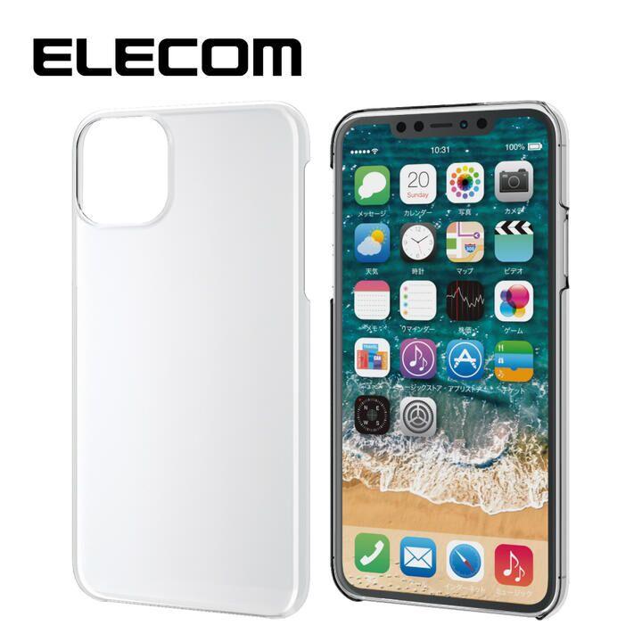 iPhone 11 Pro Max ケース エレコム 軽量 薄型 シンプル クリアハードケース クリア iPhone 11 Pro Max_0