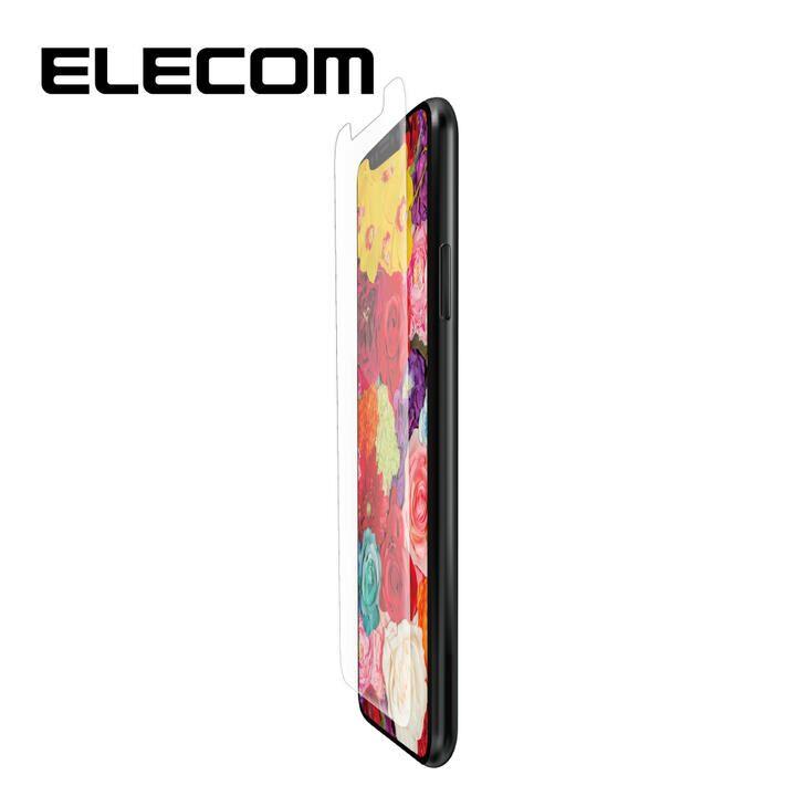 iPhone 11/XR フィルム エレコム 液晶保護フィルム 高精細 衝撃吸収 反射 / 指紋 防止 iPhone 11/XR_0
