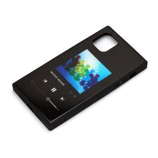 iPhone 11 Pro Max ケース ディズニー ガラスハイブリッドケース ミッキーマウス/ブラック iPhone 11 Pro Max