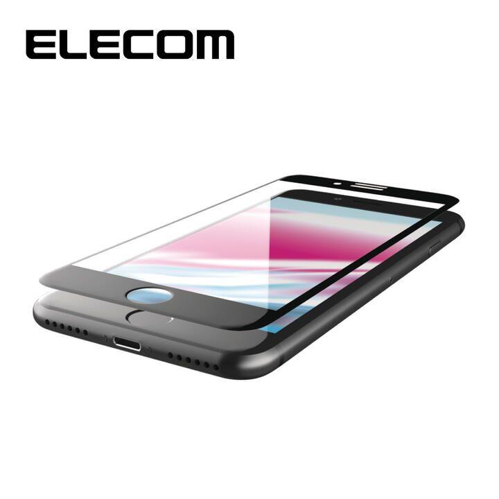 iPhone8/7/6s/6 フィルム エレコム 超最強強化 強化ガラス硬度9H セラミックコート/全面指紋防止 iPhone 8/7/6s/6_0
