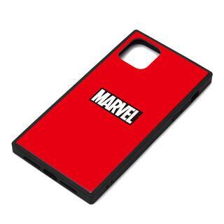 iPhone 11 Pro Max ケース MARVEL ガラスハイブリッドケース ロゴ/レッド iPhone 11 Pro Max