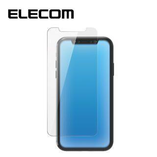 iPhone 11 Pro/XS フィルム エレコム 強化ガラス 9H全面 BL 指紋防止 0.33mm iPhone 11 Pro/X/XS
