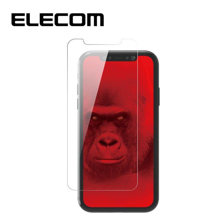 iPhone 11/XR フィルム エレコム 超強化 強化ガラス硬度9H 指紋防止 ゴリラ iPhone 11/XR_0