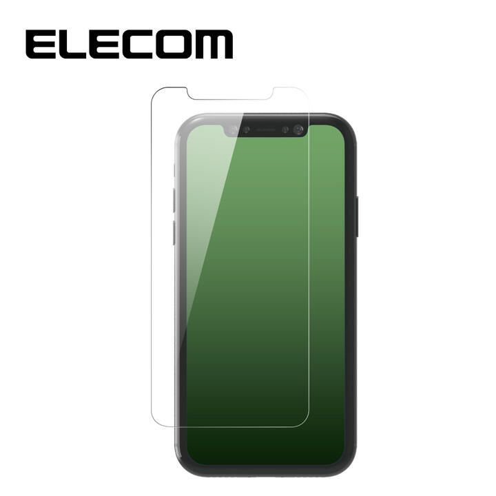iPhone 11 Pro Max フィルム エレコム 超強化 強化ガラス硬度9H 指紋防止 エアーレス iPhone 11 Pro Max/XS Max_0