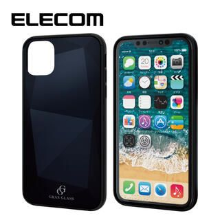 iPhone 11 ケース エレコム 3種構造 ハイブリッドケース ブラック iPhone 11