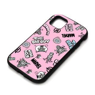 iPhone 11 Pro Max ケース MARVEL ハイブリッドタフケース アベンジャーズ/ピンク iPhone 11 Pro Max